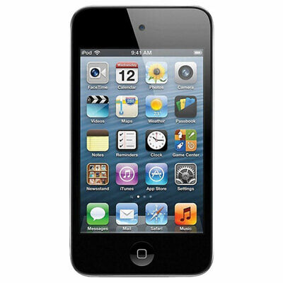 Black A1288-8GB /& Higher Size Tested Apple iPod Touch 2nd Generation Used