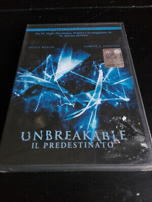 UNBREAKABLE DVD SIGILLATO COLLECTOR'S EDIT. 2 DVD M.Night Shyamalan Bruce Willis