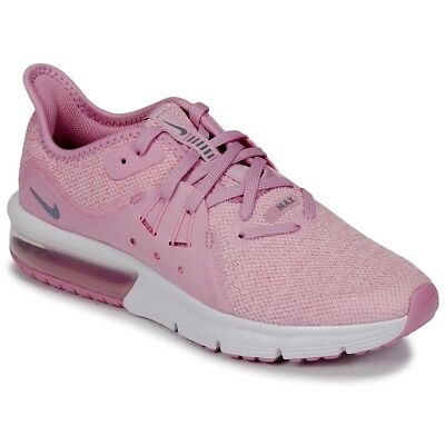best service 8713b 68859 Basket chaussures fille Nike Air Max Sequent 3 Rose pointure 29.5