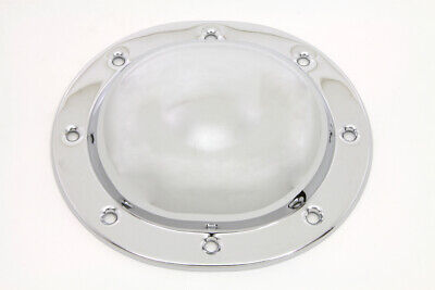 Steel Dimple Derby Cover Chrome fits Harley Davidson,V-Twin 42-0873
