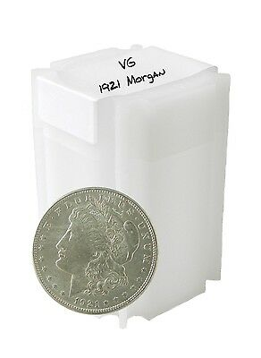 1921 Silver Morgan Dollar VG+ Lot of 20 S$1 Delivered in a New Coin Tube