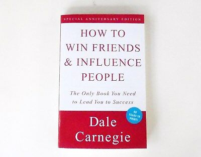 How To Win Friends & Influence People by Dale Carnegie (1998) Paperback ~ NEW!