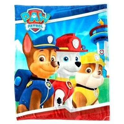 NICK JR PAW PATROL Throw Blanket 50 x 60 Super Soft Plush Throw (FREE   SHIPPING)
