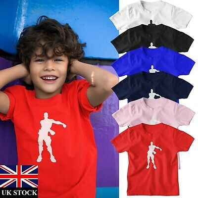 Toddlers  Floss Dancer Dance T Shirt Tee Top Boys Girls Kids Age 2-6 Years