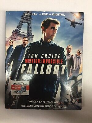 MISSION IMPOSSIBLE - FALLOUT,**(USED - VERY GOOD BLU-RAY/DVD/Digital)**