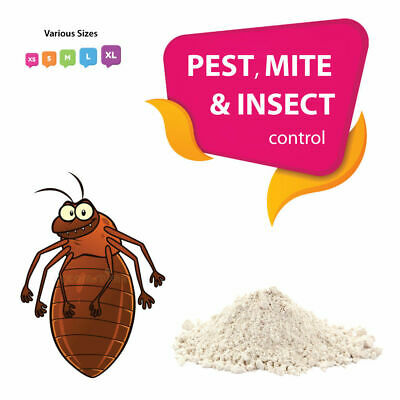 Diatomaceous Earth Feed Grade DE for MITES, FLEAS, TICKS, LICE, INSECTS & PESTS