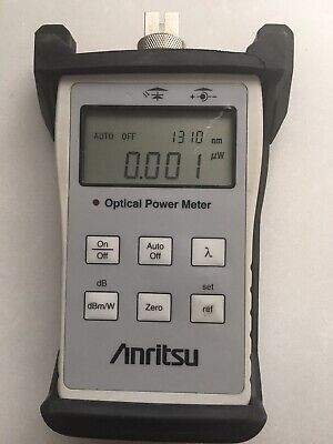 Anritsu CMA5 Optical Light Source / Power Meter