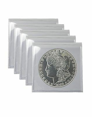 Silver Morgan and Peace Dollar Polished Cull Lot of 5