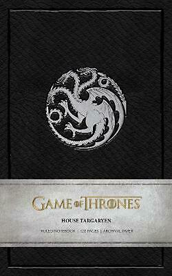 Game of Thrones: House Targaryen Ruled Notebook by Insight Editions Paperback Bo