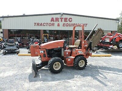 2011 Ditch Witch Rt45 Ride On Trencher - Side Shift - Only 1000 Hours!!