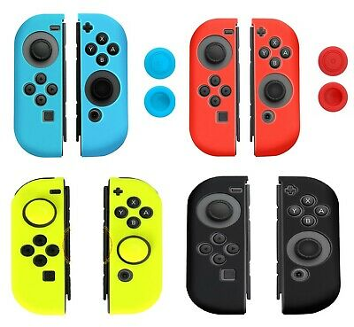 Silicone Rubber Case Cover For Nintendo Switch Controller GamePad Grip
