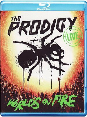 The Prodigy-Live World's On Fire (CD & Blu Ray) CD Widescreen, Live, CD+Blu-ray