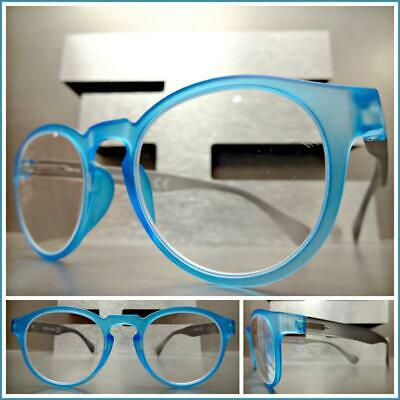 247f2acf00d9a CLASSIC VINTAGE RETRO Style READING EYE GLASSES READERS Matte Blue & Gray  Frame