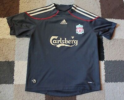 c8025010a54 LIVERPOOL FC  ADIDAS  AWAY Shirt 2009-2010 (Childs Boys 9-10 Years ...