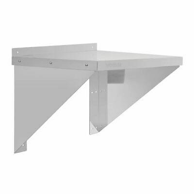 Stainless Steel Microwave Shelf Hanger Holder - Polished Finish 560(w)x460(d)mm