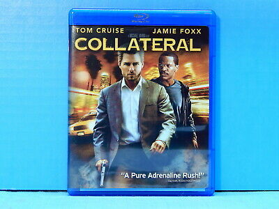 Collateral - Tom Cruise & Jamie Foxx (Blu-ray) Like New