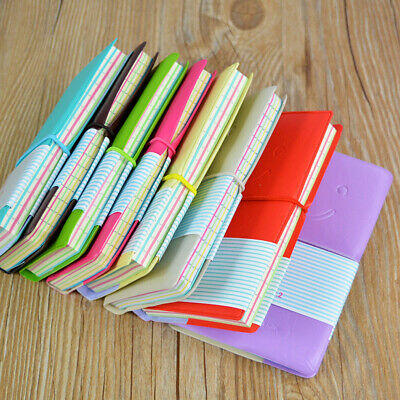 Journal Diary Notebook Paper Gift Cute Travel Mini Pocket Notepad Memo Note Book