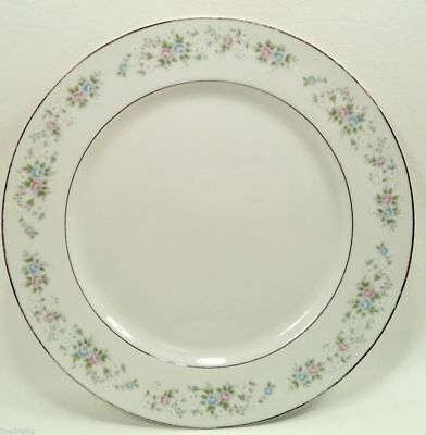 "Carlton CORSAGE China 481 Japan Round Chop Plate Serving Platter 12"" Ships Free"