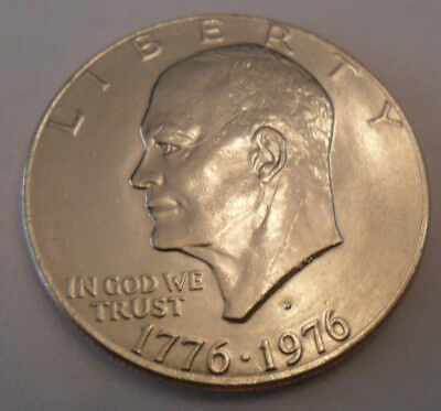 1976 D Eisenhower Dollar Coin (Ike)  Type II (2)   SDS   **FREE SHIPPING**
