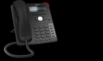 Snom D712 Desk Telephone - Black