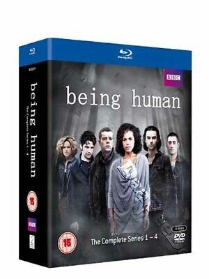 Being Human - Complete Series 1-4 NEW Cult Blu-Ray 11-Disc Set Lenora Crichlow
