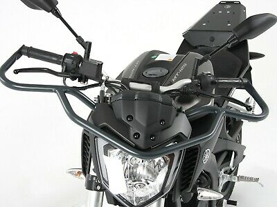 Yamaha MT 125 ABS Bullbar Anthracite BY HEPCO AND BECKER