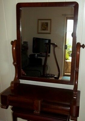 Large Mahogany Dressing Table Mirror , pick up in Geelong
