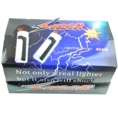Funny Electric Shocking Lighter Tricks Toys April Fool's Day Disposable