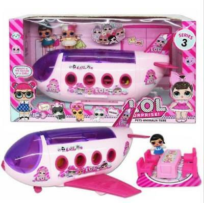 LOL Surprise Doll Girl Park House Game Slide Playset Baby Kids Gift Toy Funny