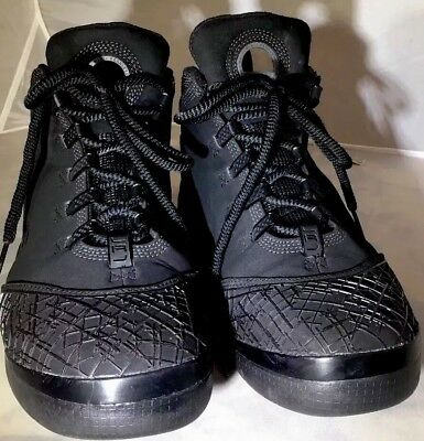 356c7ad63bb1 NIKE ZOOM SOLDIER II Black Black 318694-001 2008 Size 8.5 Medium ...
