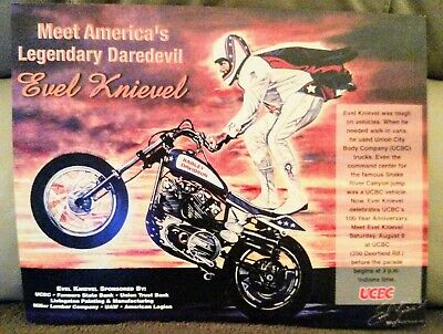 Evel Knievel Personal Posters and Original Advertisement Assortment