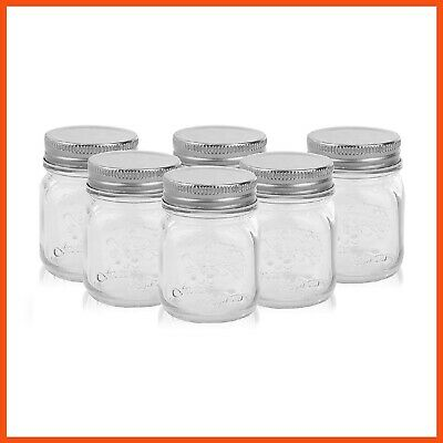 SMALL JAM CONSERVE PRESERVING JAR WITH SILVER LID 200mL | Home Made Chutney Jars