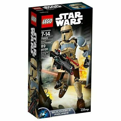 LEGO Star Wars Scarif Stormtrooper 75523 Buildable Figure Brand New 89 pieces