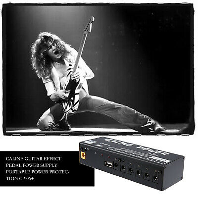 Portable Caline Power Supply Station 6 Output For 9V/Guitar Effect Pedal Board