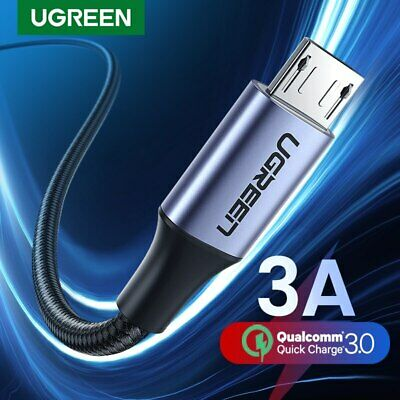 Ugreen Micro USB Cable 2.4A Fast Phone Data Charge Cable Fr Samsung S7 S6 Xiaomi