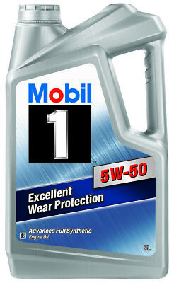 Mobil 1 5W-50 Full Synthetic Engine Oil 5L