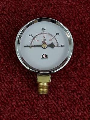 Dropsa Lubrication 63mm Pressure Gauge 0-400BAR *