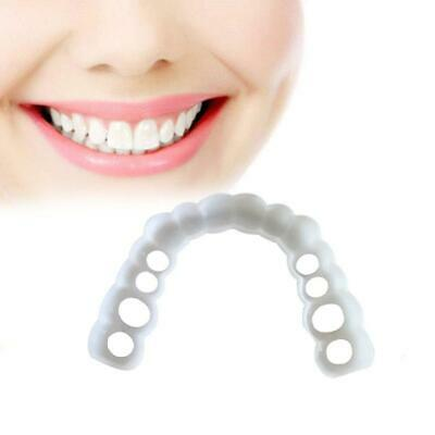 Teeth Whitening Snap On Smile Cosmetic Denture Instant Perfect Teeth Cover Fake