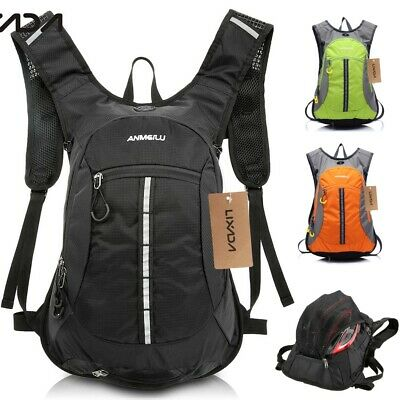 15L MTB Bicycle Cycling Backpack Hydration Pack Hiking Camping Water Bladder Bag