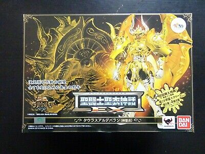 saint seiya myth cloth ex taurus sog soul of gold taureau unopened sealed