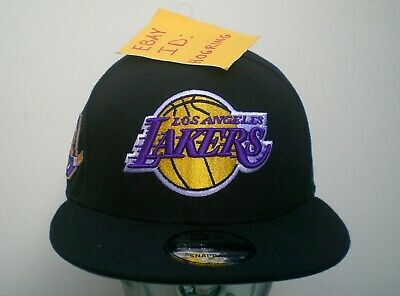 online store 06cab 3899f Kobe Bryant Los Angeles Lakers Retirement New Era Mens Black 9Fifty  Snapback Hat