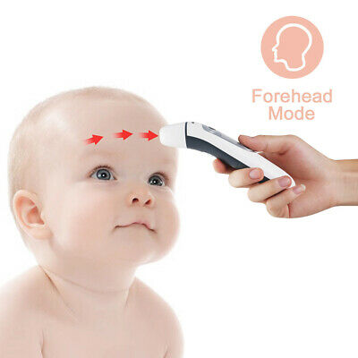IR Infrared Digital Ear Forehead Thermometer Fever For Baby Kids Children Adult