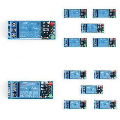 30A 5V 12V 24V 1-Channel Relay Board With Optocoupler H//L Level Triger ATF