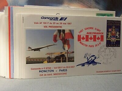 concorde 45 enveloppes  air france