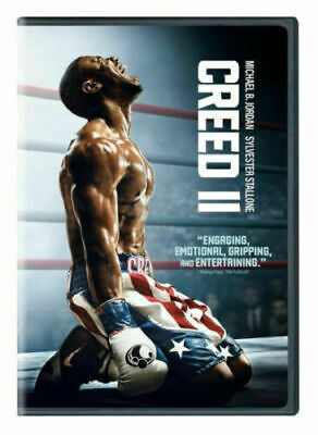 Creed II  (DVD 2018) (DVD 2019) BRAND NEW USA SELLER FREE SHIPPING