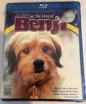 For the Love of Benji (Blu-ray Disc, 2012)***NEW SEALED***