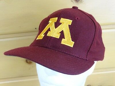 hot sale online 701f8 9fa26 Minnesota Golden Gophers Cap hat Maroon One Sizes The Game Vintage Ncaa