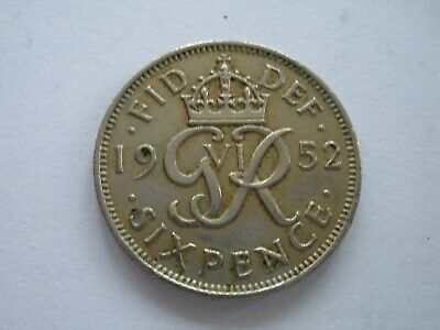 1937 - 1952 George Vi Sixpences - Choose Your Date