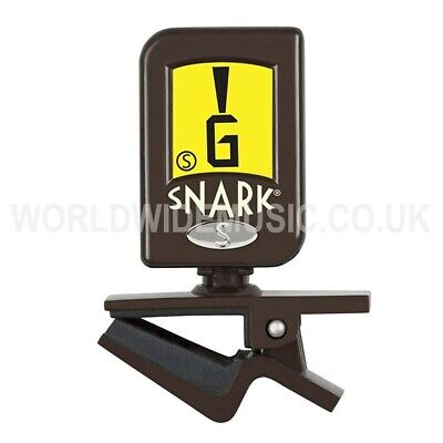SNARK Napoleon Clip-on Chromatic Guitar / Bass Tuner with Detachable Pick Holder