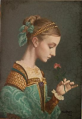 James Christensen -First Rose- S/N LE Giclee Canvas